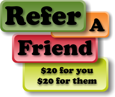 Refer a Friend multicolour v3